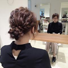 セミロング ショート 簡単ヘアアレンジ 大人かわいい ヘアスタイルや髪型の写真・画像