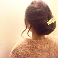 ナチュラル ショート アップスタイル ヘアアレンジ ヘアスタイルや髪型の写真・画像
