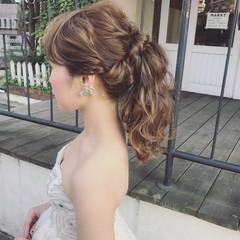 デート ウェーブ フェミニン アンニュイ ヘアスタイルや髪型の写真・画像