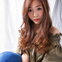 暗髪 外国人風 大人かわいい ロング ヘアスタイルや髪型の写真・画像