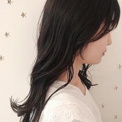 大人かわいい セミロング ナチュラル 大人女子 ヘアスタイルや髪型の写真・画像