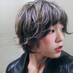 ヘアアレンジ モード ハイトーン グラデーションカラー ヘアスタイルや髪型の写真・画像