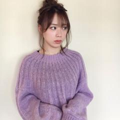バレンタイン 謝恩会 ミディアム ヘアアレンジ ヘアスタイルや髪型の写真・画像