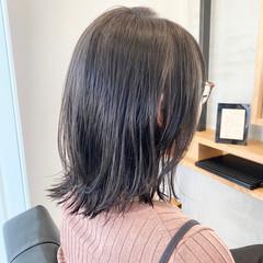 ナチュラル レイヤースタイル ボブ レイヤーボブ ヘアスタイルや髪型の写真・画像