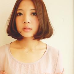 パーマ ミディアム 外国人風 アッシュ ヘアスタイルや髪型の写真・画像