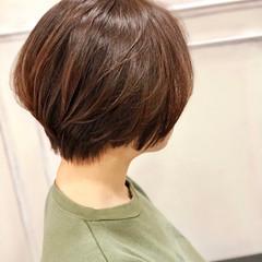 ミニボブ ショートヘア ショートボブ ウルフカット ヘアスタイルや髪型の写真・画像
