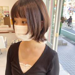 ストリート ショート ニュアンスウルフ ウルフ ヘアスタイルや髪型の写真・画像
