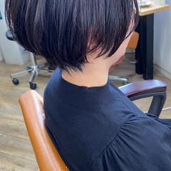 ショートヘア ミニボブ ショート 大人ショート ヘアスタイルや髪型の写真・画像
