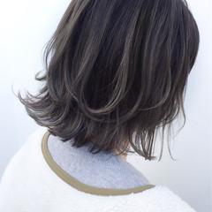 ボブ 外国人風 似合わせ ハイライト ヘアスタイルや髪型の写真・画像