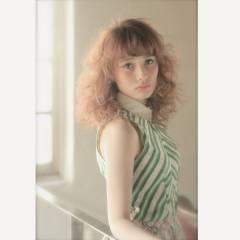 大人かわいい フェミニン コンサバ 外国人風 ヘアスタイルや髪型の写真・画像