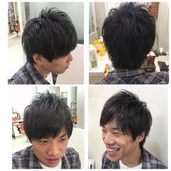 ショート 爽やか ボーイッシュ 黒髪 ヘアスタイルや髪型の写真・画像