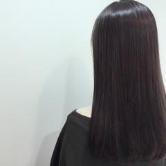 ガーリー グラデーションカラー 暗髪 アッシュ ヘアスタイルや髪型の写真・画像