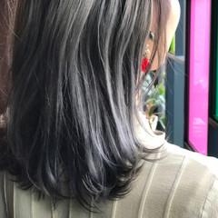 ストリート ボブ 色気 アッシュ ヘアスタイルや髪型の写真・画像