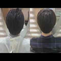 社会人の味方 メンズショート メンズスタイル メンズカット ヘアスタイルや髪型の写真・画像