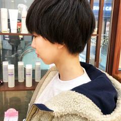 マッシュヘア ナチュラル ショートマッシュ ショート ヘアスタイルや髪型の写真・画像
