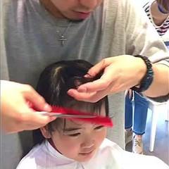 子供 前髪あり 前髪パッツン ロング ヘアスタイルや髪型の写真・画像
