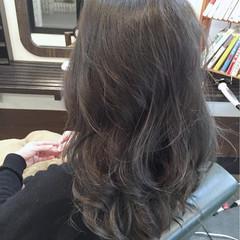 フェミニン グラデーションカラー ロング コンサバ ヘアスタイルや髪型の写真・画像