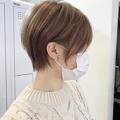 ショートヘア ハンサムショート 小顔ショート ショート ヘアスタイルや髪型の写真・画像