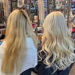 ロング ガーリー ロングヘア ギャル ヘアスタイルや髪型の写真・画像