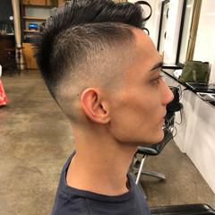 メンズ フェードカット ストリート ベリーショート ヘアスタイルや髪型の写真・画像