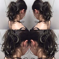 ナチュラル リラックス ハイライト 色気 ヘアスタイルや髪型の写真・画像