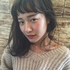 ヘアアレンジ 大人女子 前髪あり ナチュラル ヘアスタイルや髪型の写真・画像
