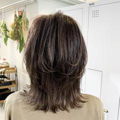 極細ハイライト 3Dハイライト 大人ハイライト ストリート ヘアスタイルや髪型の写真・画像