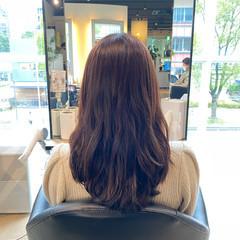 ロング お手入れ簡単!! 360度どこからみても綺麗なロングヘア フェミニン ヘアスタイルや髪型の写真・画像