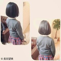 キュート ラフ 簡単ヘアアレンジ 子供 ヘアスタイルや髪型の写真・画像