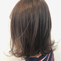 ガーリー 艶髪 ボブ 抜け感 ヘアスタイルや髪型の写真・画像