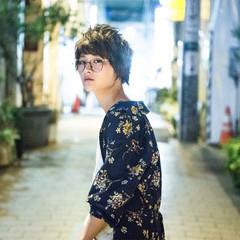 ストリート 透明感 マッシュ 秋 ヘアスタイルや髪型の写真・画像