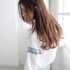 透明感カラー グラデーションカラー ナチュラル イルミナカラー ヘアスタイルや髪型の写真・画像