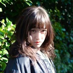 フェミニン ナチュラル 前髪あり 透明感 ヘアスタイルや髪型の写真・画像