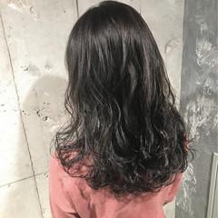 外国人風カラー ナチュラル スポーツ セミロング ヘアスタイルや髪型の写真・画像