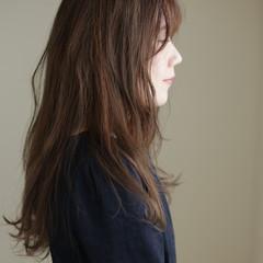 ロング 360度どこからみても綺麗なロングヘア エアーストレート 大人女子 ヘアスタイルや髪型の写真・画像