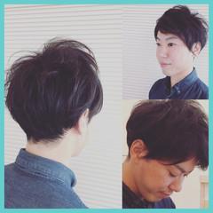 ナチュラル ショート ニュアンス ヘアスタイルや髪型の写真・画像