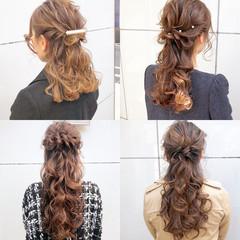 結婚式 デート アンニュイほつれヘア ナチュラル ヘアスタイルや髪型の写真・画像