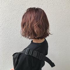 ガーリー ハイトーン 外国人風カラー ショート ヘアスタイルや髪型の写真・画像