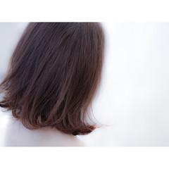 ナチュラル ブラウン アッシュ ボブ ヘアスタイルや髪型の写真・画像