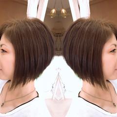 ナチュラル ヘアアレンジ ボブ 似合わせ ヘアスタイルや髪型の写真・画像