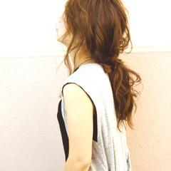 渋谷系 外国人風 ヘアアレンジ 簡単ヘアアレンジ ヘアスタイルや髪型の写真・画像