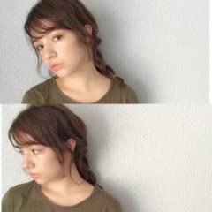 外国人風 卵型 グラデーションカラー ヘアアレンジ ヘアスタイルや髪型の写真・画像