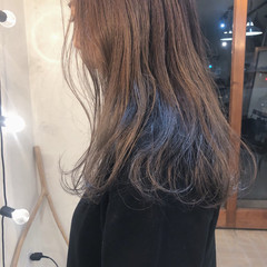 アンニュイほつれヘア ヘアアレンジ セミロング 大人かわいい ヘアスタイルや髪型の写真・画像