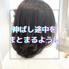 ナチュラル 髪質改善 ストレート ブリーチなし ヘアスタイルや髪型の写真・画像