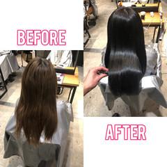 ナチュラル トリートメント サイエンスアクア 髪質改善トリートメント ヘアスタイルや髪型の写真・画像