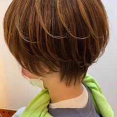ベリーショート ショート ショートボブ ショートヘア ヘアスタイルや髪型の写真・画像