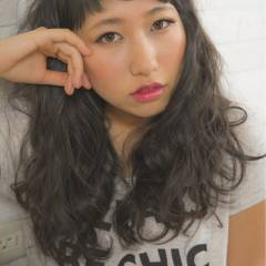 外国人風 卵型 ストリート 逆三角形 ヘアスタイルや髪型の写真・画像