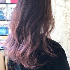 ハイライト グラデーションカラー 透明感カラー ストリート ヘアスタイルや髪型の写真・画像