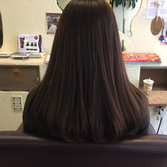 ナチュラル ピンク 大人女子 ベリーピンク ヘアスタイルや髪型の写真・画像