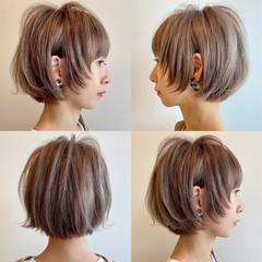 ウルフ女子 ボブ ウルフカット ウルフ ヘアスタイルや髪型の写真・画像